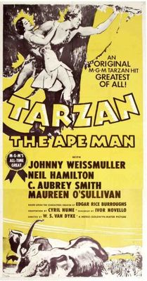 Tarzan the Ape Man movie poster (1932) poster MOV_d9a05a8e