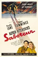 Saboteur movie poster (1942) picture MOV_d9bf9b01