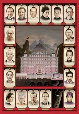 The Grand Budapest Hotel movie poster (2014) poster MOV_d9dd70c5