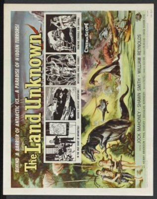 The Land Unknown movie poster (1957) poster MOV_d9e1b42e