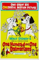 One Hundred and One Dalmatians movie poster (1961) picture MOV_d9e3d7ff