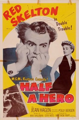 Half a Hero movie poster (1953) poster MOV_d9f0005f