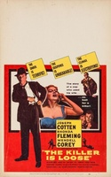 The Killer Is Loose movie poster (1956) picture MOV_d9f27335