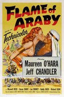 Flame of Araby movie poster (1951) picture MOV_d9f50a78