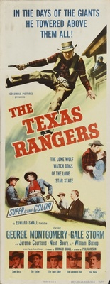 The Texas Rangers movie poster (1951) poster MOV_da436c00