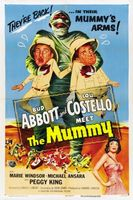 Abbott and Costello Meet the Mummy movie poster (1955) picture MOV_da563ed2
