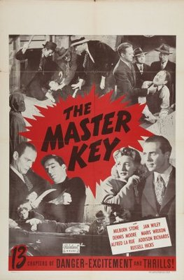 The Master Key movie poster (1945) poster MOV_da83e339