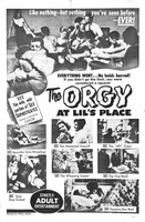 Orgy at Lil's Place movie poster (1963) picture MOV_da957b2a