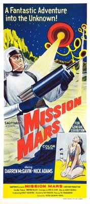 Mission Mars movie poster (1968) poster MOV_da97d9e6