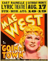 Goin' to Town movie poster (1935) picture MOV_daa8b03f