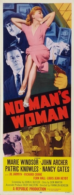 No Man's Woman movie poster (1955) poster MOV_db00d6c4