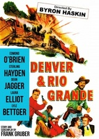 Denver and Rio Grande movie poster (1952) picture MOV_db169595