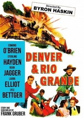 Denver and Rio Grande movie poster (1952) poster MOV_db169595