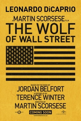 The Wolf of Wall Street movie poster (2013) poster MOV_db44bf3a