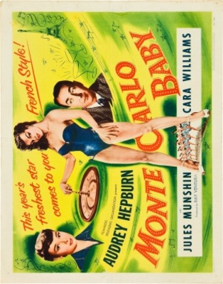 Monte Carlo Baby movie poster (1953) poster MOV_db61692d