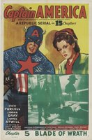 Captain America movie poster (1944) picture MOV_db8453d2