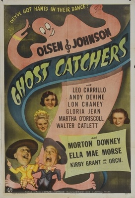 Ghost Catchers movie poster (1944) poster MOV_db8b0dbd