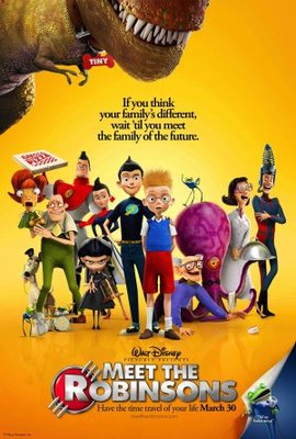 Meet the Robinsons movie poster (2007) poster MOV_db913c12
