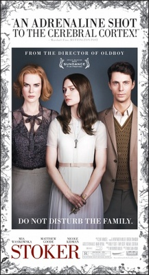 Stoker movie poster (2013) poster MOV_db9aa181