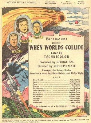 When Worlds Collide movie poster (1951) poster MOV_dbb08a2c