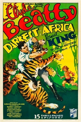 Darkest Africa movie poster (1936) poster MOV_dbc061b9