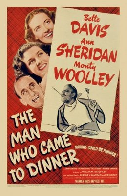 The Man Who Came to Dinner movie poster (1942) poster MOV_dbdfacdb