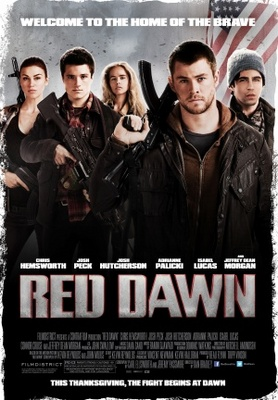 Red Dawn movie poster (2012) poster MOV_dbe3d3e6