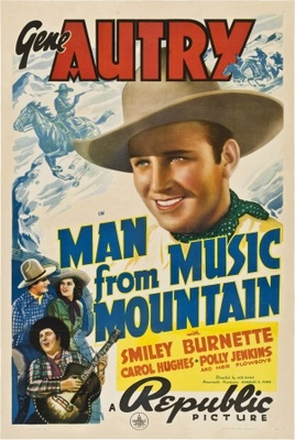 Man from Music Mountain movie poster (1938) poster MOV_dbe7244c