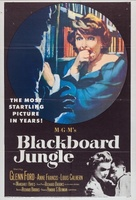 Blackboard Jungle movie poster (1955) picture MOV_dbea6e4a