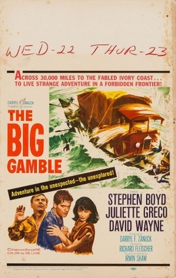 The Big Gamble movie poster (1961) poster MOV_dc00f4d3