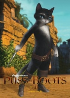 Puss in Boots movie poster (2011) picture MOV_b3996060