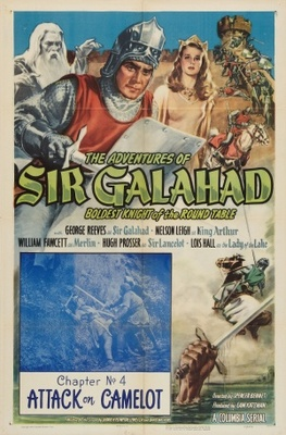 The Adventures of Sir Galahad movie poster (1949) poster MOV_dc27a1de