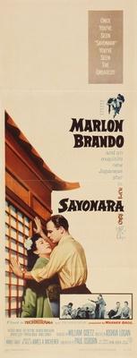 Sayonara movie poster (1957) poster MOV_dc2c31b7