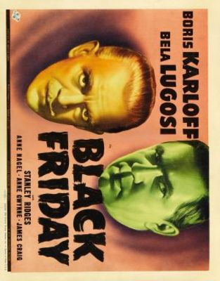 Black Friday movie poster (1940) poster MOV_dc3d25a2