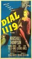 Dial 1119 movie poster (1950) picture MOV_dc494a45