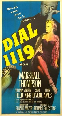 Dial 1119 movie poster (1950) poster MOV_dc494a45