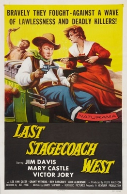 The Last Stagecoach West movie poster (1957) poster MOV_dc4ea457
