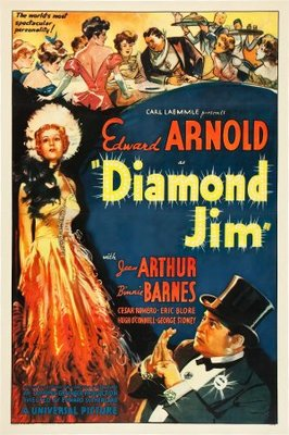Diamond Jim movie poster (1935) poster MOV_dc6d9bce