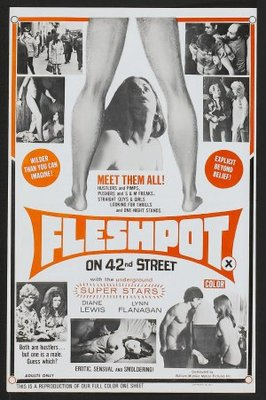 Fleshpot on 42nd Street movie poster (1973) poster MOV_dc831985