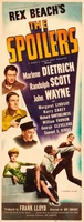 The Spoilers movie poster (1942) picture MOV_dc9de89a