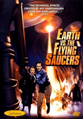 Earth vs. the Flying Saucers movie poster (1956) poster MOV_dca4da39