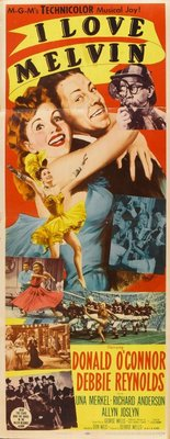 I Love Melvin movie poster (1953) poster MOV_dcc36326