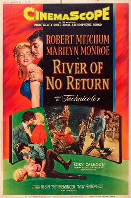 River of No Return movie poster (1954) poster MOV_dcc93294