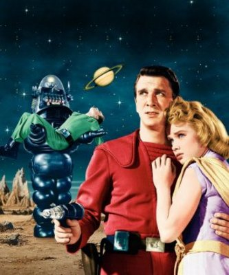 Forbidden Planet movie poster (1956) poster MOV_dcde88e7