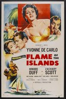 Flame of the Islands movie poster (1955) picture MOV_dcf18666