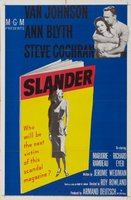 Slander movie poster (1956) picture MOV_dcfaa986