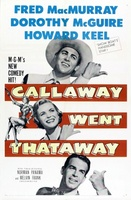 Callaway Went Thataway movie poster (1951) picture MOV_dd013b3b