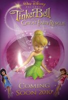 Tinker Bell and the Great Fairy Rescue movie poster (2010) picture MOV_dd050228