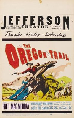 The Oregon Trail movie poster (1959) poster MOV_dd0b9d47