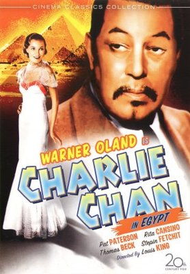 Charlie Chan in Egypt movie poster (1935) poster MOV_dd291ce7